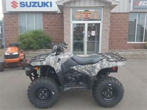 2018 Suzuki ATV 500 & 750 EPS King Quads starting@ $8999*