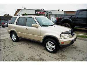 2001 HONDA CRV | ALL WHEEL DRIVE | LEATHER