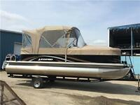 2012 Legend 22' Genesis RE Pontoon, with trailer, $21,999