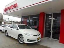 2013 Toyota Camry ASV50R Atara S Pearl White 6 Speed Automatic Sedan Allawah Kogarah Area Preview
