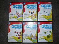 6 x LETTS GCSE CD ROM Software, Brand New