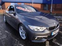 65 BMW 420D M SPORT DIESEL COUPE AUTO *SATNAV*HEATED LEATHER* £30 TAX