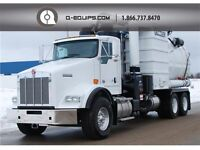 2013 GUZZLER CL WET/DRY VACUUM TRUCK - KENWORTH CHASSIS