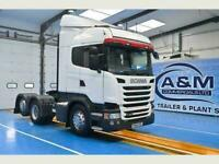 Scania R 450 Euro 6, 6x2 rearlift axle, 2.9m wheelbase, 2 pedal Opticruise gear