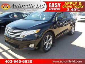 2011 Toyota Venza AWD LEATHE PANO ROOF B CAM EVERYONE APPROVED