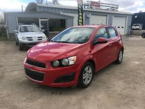 2012 Chevrolet Sonic LT Financing Available!!!