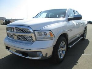2015 RAM 1500 LARAMIE 4X4, Leather Trimmed Bucket Seats, Heated