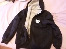 Fleece lined Agents of Shield zipped front hoodie - Brand New