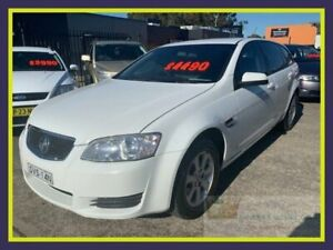 2011 Holden Commodore VE II Omega White Automatic Sedan Lansvale Liverpool Area Preview