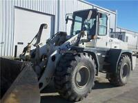 2006 TEREX SKL873 WHEEL LOADER WITH ATTACHMENTS, FORKS, GRAPPLE