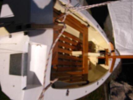 Phoenix 3 design - Ross Lillistone 15 ft clinker MP day sailer Lymington Huon Valley Preview