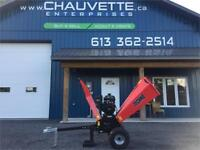 [FR]Wood Chipper with gas engine Cornwall Ontario Preview
