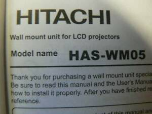 hitachi projector mount Carramar Wanneroo Area Preview