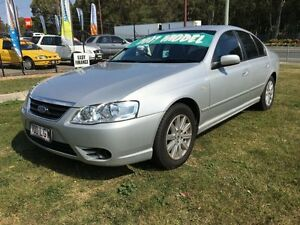 2007 Ford Fairmont BF MkII 07 Upgrade Silver 4 Speed Auto Seq Sportshift Sedan Clontarf Redcliffe Area Preview