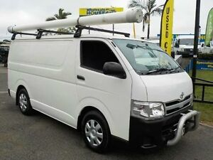 2012 Toyota Hiace KDH201R MY12 LWB White 4 Speed Automatic Van Coopers Plains Brisbane South West Preview