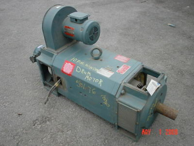 100 HP DC Reliance Electric Motor, 850 RPM, C3214ATZ Frame, DPFV, 500 V, New