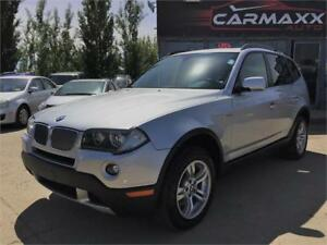 2008 BMW X3 3.0i AWD / NO ACCIDENTS / ONLY $11,999!!