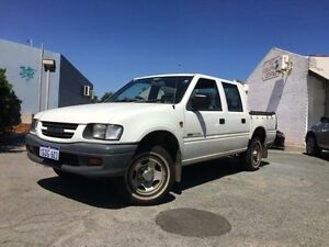 2000 Holden Rodeo TFR9 LX White 5 Speed Manual Cab Chassis Beckenham Gosnells Area Preview