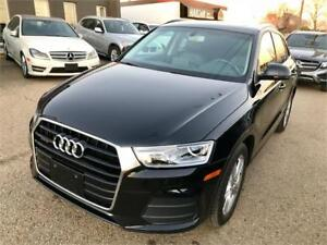 2016 Audi Q3 Quattro AWD, Pano Sunroof, Low kms!