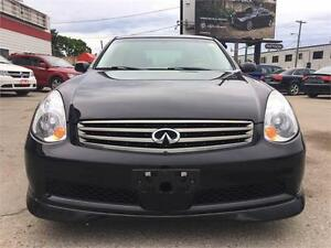 2005 INFINITI G35 Sedan Luxury Leather! Heated Seats!