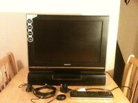 """Television Humax 19"""" wide digital tft-lcd tv in excellent condition"""