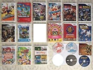 Wii Games : Kirby Collection, Mario All-Star, Mario Kart ...