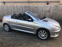Exceptionally clean and drives lovely - Peugeot 206cc Convertible