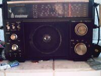 steepletone world band radio old school collectors