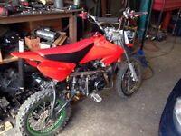 Pitbike lifan 125