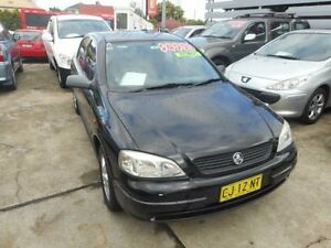 2001 Holden Astra TS CD Black Automatic Sedan Holroyd Parramatta Area Preview