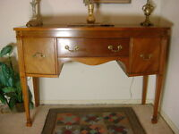 Antique Sheraton Sideboard {DELIVERY Avail}