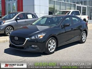 2017 Mazda Mazda3 GX | Rear Camera, Bluetooth, Cruise