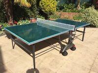 Kettle Topstar Weatherproof Foldaway Table Tennis Table