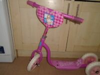 Barbie girls pink scooter