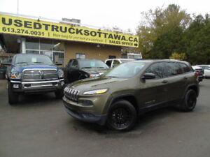 2014 Jeep Cherokee Sport 4x4  We finance Everyone !!!