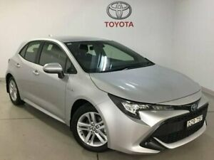2018 Toyota Corolla ZWE211R Ascent Sport E-CVT Hybrid Silver 10 Speed Constant Variable Hatchback West Ryde Ryde Area Preview