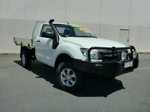 2013 Ford Ranger PX XL White 6 Speed Sports Automatic Cab Chassis Westcourt Cairns City Preview