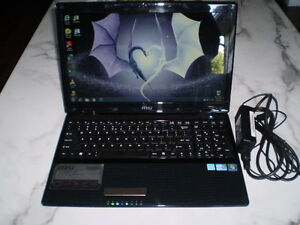 INTEL CORE I3 LAPTOP, 4GB RAM, 320 HDD, HDMI, WEBCAM, GOOD BATTE