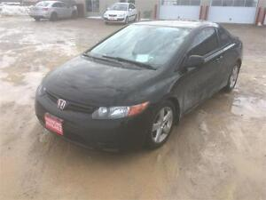 2007 Honda Civic Cpe EX Certified $7995+Hst&Lic