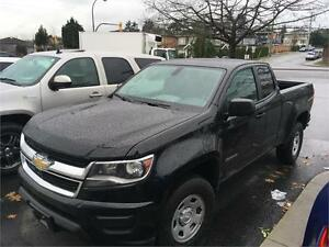 2016 Chevrolet Colorado black 2wd extended cab 1400 km