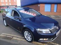 63 VOLKSWAGEN PASSAT TDI 140 BHP HIGHLINE ESTATE DIESEL £30 ROAD TAX *SATNAV*