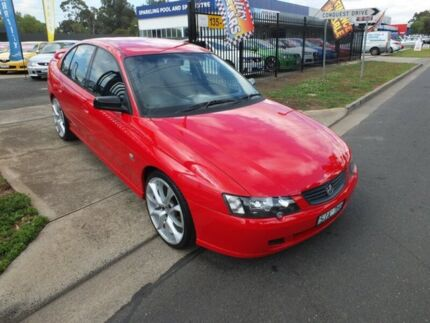 2003 Holden Commodore VY II SV8 Red 6 Speed Manual Sedan