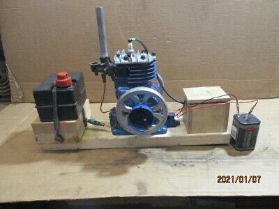 Briggs Stratton Engine Converted To Look Like Hit Miss Engine Model Wi
