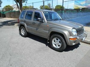 2003 Jeep Cherokee KJ MY2003 Limited Gold 4 Speed Automatic Wagon Somerton Park Holdfast Bay Preview