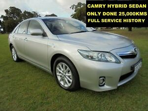 2011 Toyota Camry AHV40R Hybrid Silver Continuous Variable Sedan Wangara Wanneroo Area Preview