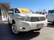 2009 Toyota Kluger GSU45R Altitude AWD White 5 Speed Sports Automatic Wagon Enfield Port Adelaide Area Preview