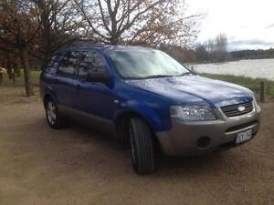 2007 Ford Territory 7-seat Wagon Isaacs Woden Valley Preview