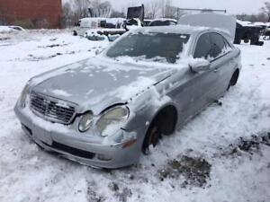 2004 Mercedes e350 just in for parts at Pic N Save!