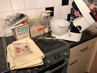 Retro Kenwood Mixer and attachments