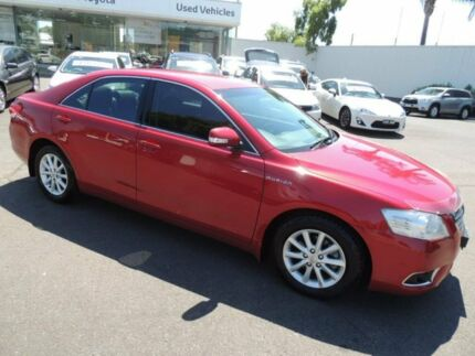2010 Toyota Aurion GSV40R MY10 Prodigy Red 6 Speed Sports Automatic Sedan Oakleigh Monash Area Preview